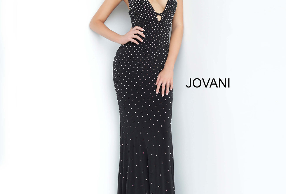 Jovani Long Sparkle Dress 1114