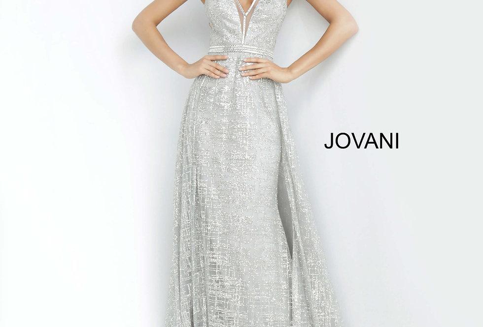 Jovani Full Figured Beaded Dress 62515