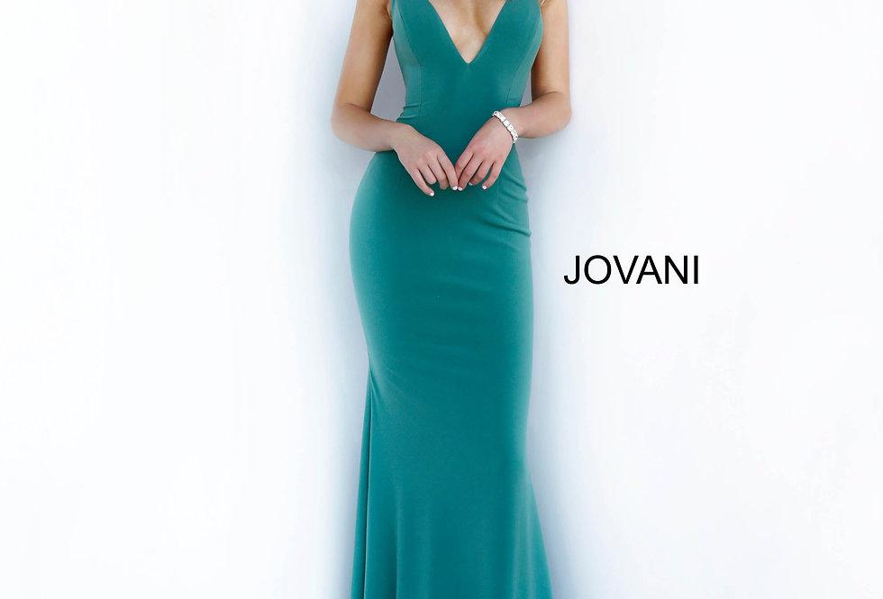 Jovani Fitted Spaghetti Strap Dress 00512