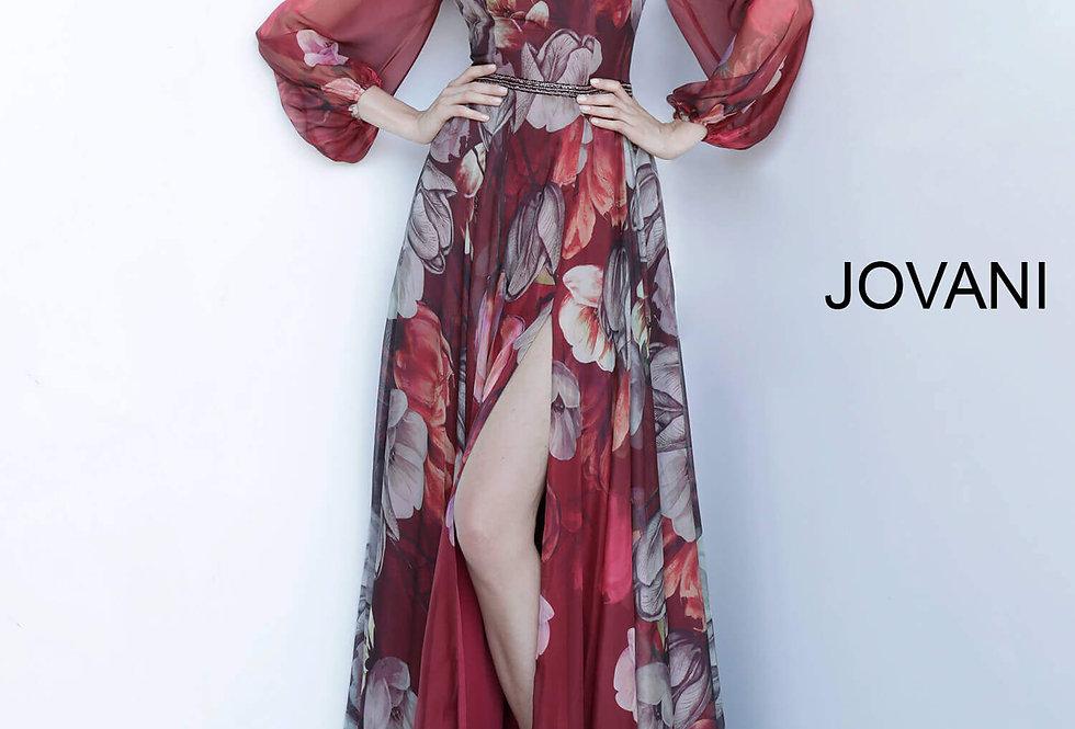 Jovani Long Chiffon Dress 2024