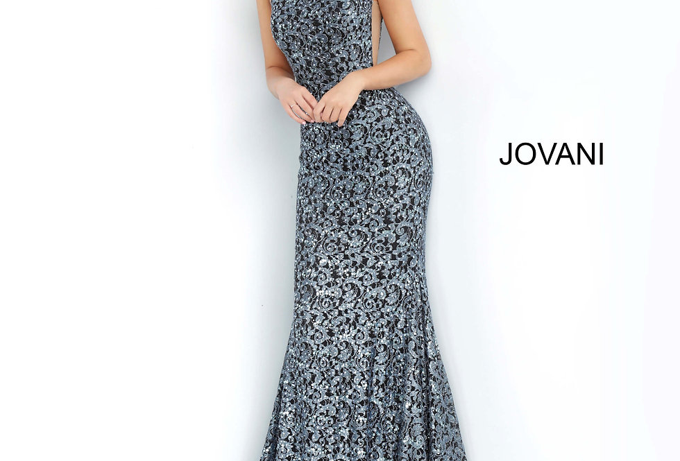 Jovani Single Shoulder Long Dress 3927