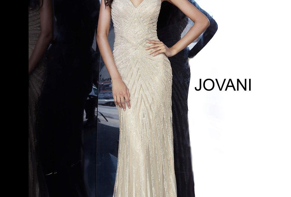 Jovani Long Glitter Dress 03095