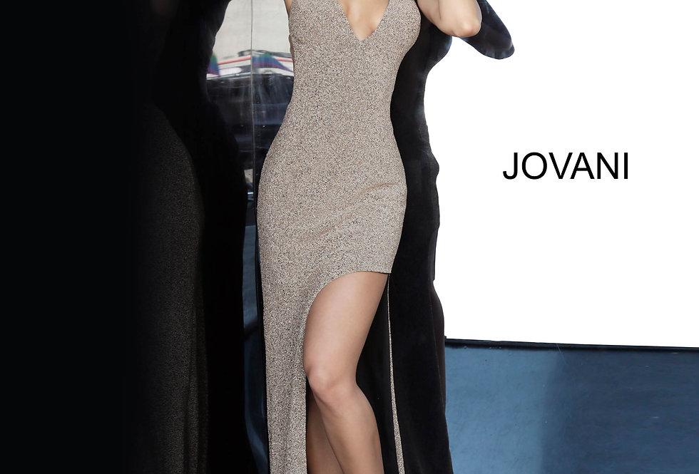 Jovani High Low Glitter Dress 6175