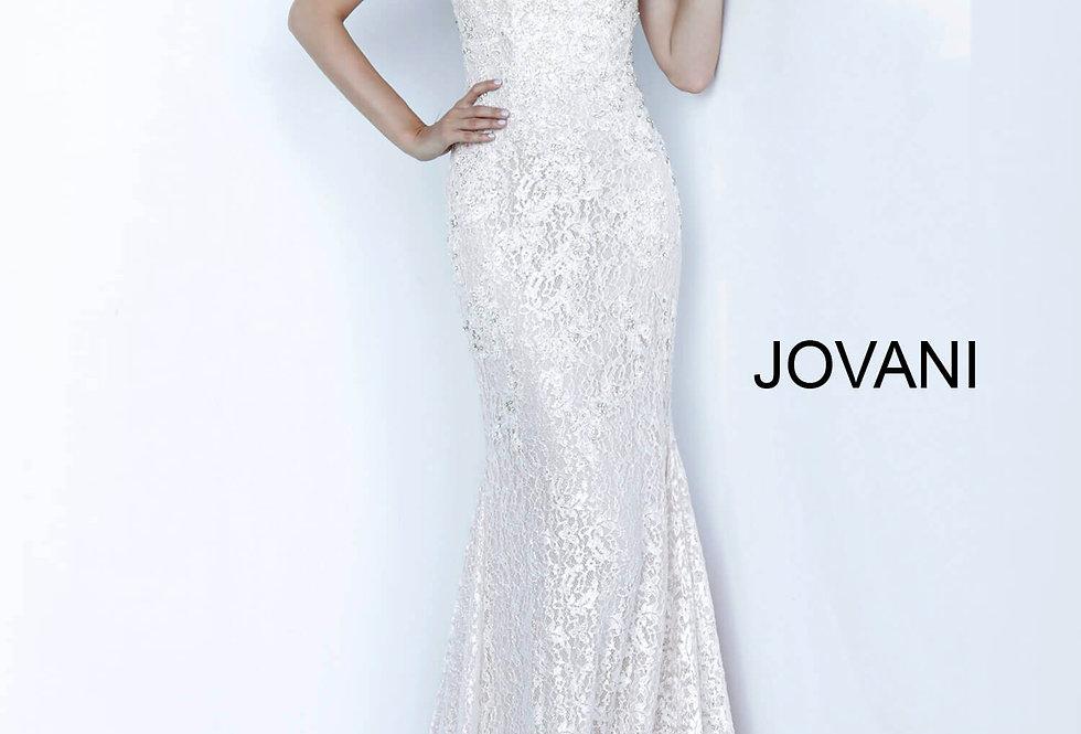 Jovani Long Lace Dress 66663