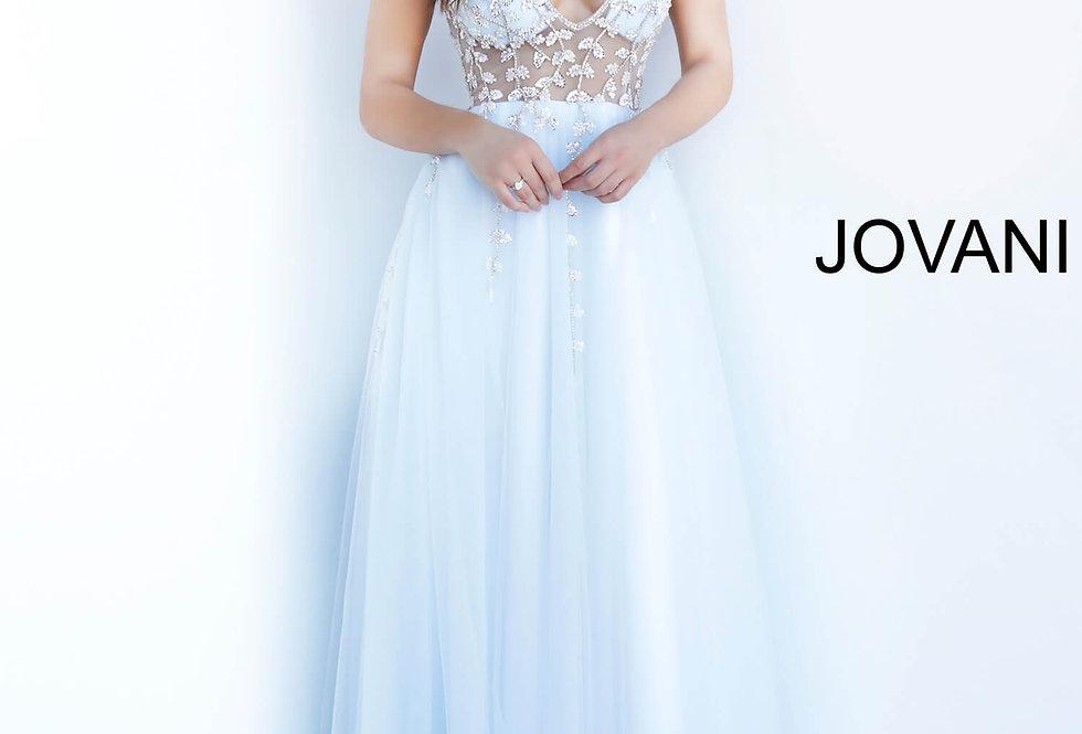 Jovani A Line Tulle Dress 3958