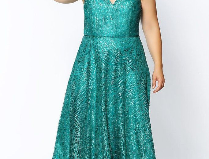 Hollywood Sparkle Prom Dress