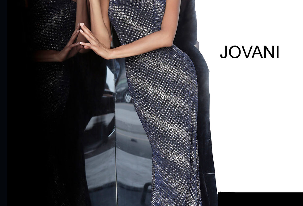 Jovani Long Fitted Dress 1167