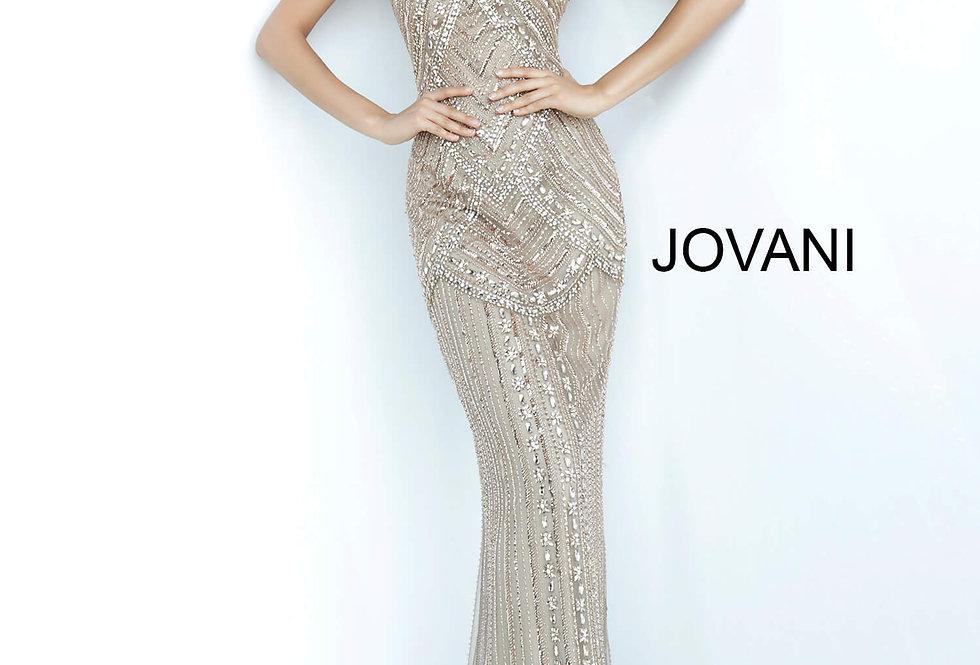 Jovani Long Beaded Dress 2554