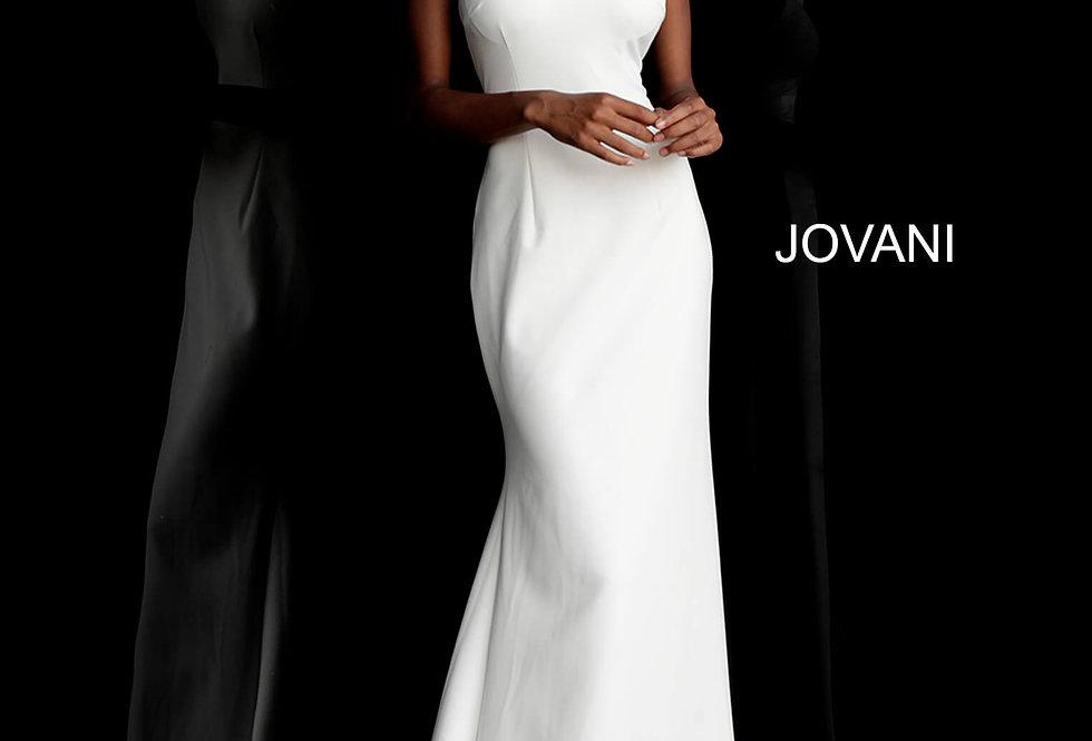 Jovani Halter Fitted Dress 67661
