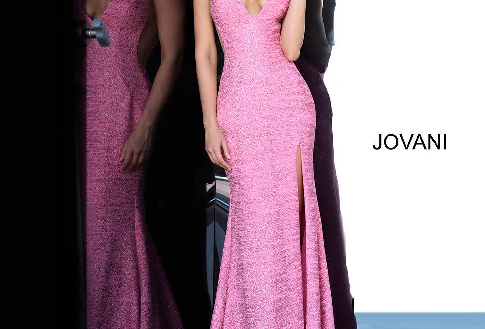 Jovani Long Slit Dress 02472