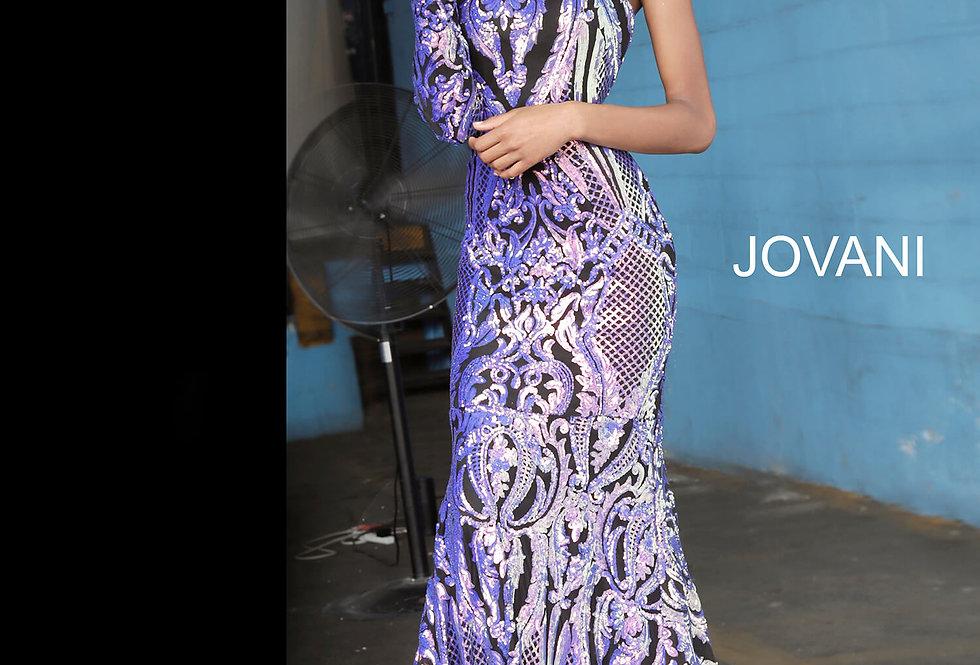 Jovani Single Shoulder Long Dress 3477