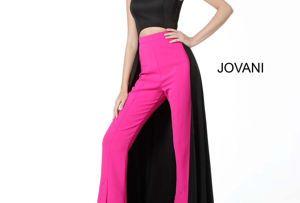 Jovani High Neckline Jumpsuit Dress 3377c