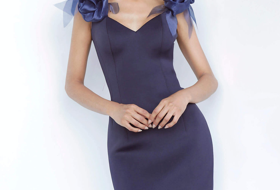 Jovani Short Cap Sleeved Fitted Dress 1470