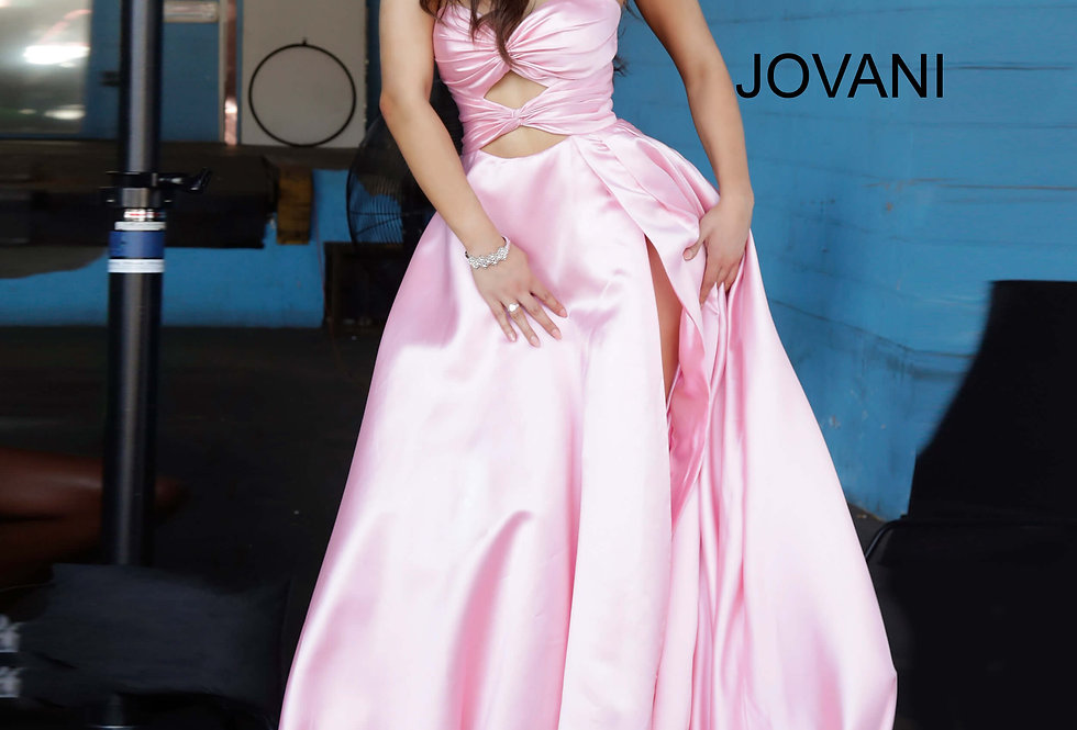 Jovani Sweetheart Strapless Dress 1815