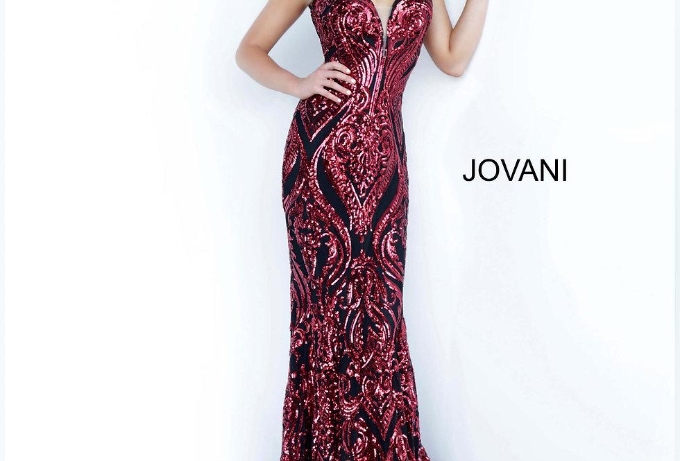 Jovani Open Back Fitted Dress 2669