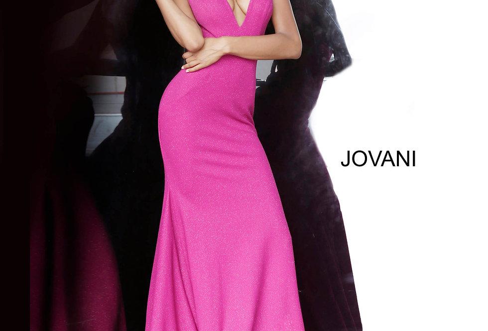 Jovani Shimmer Long Dress 00698