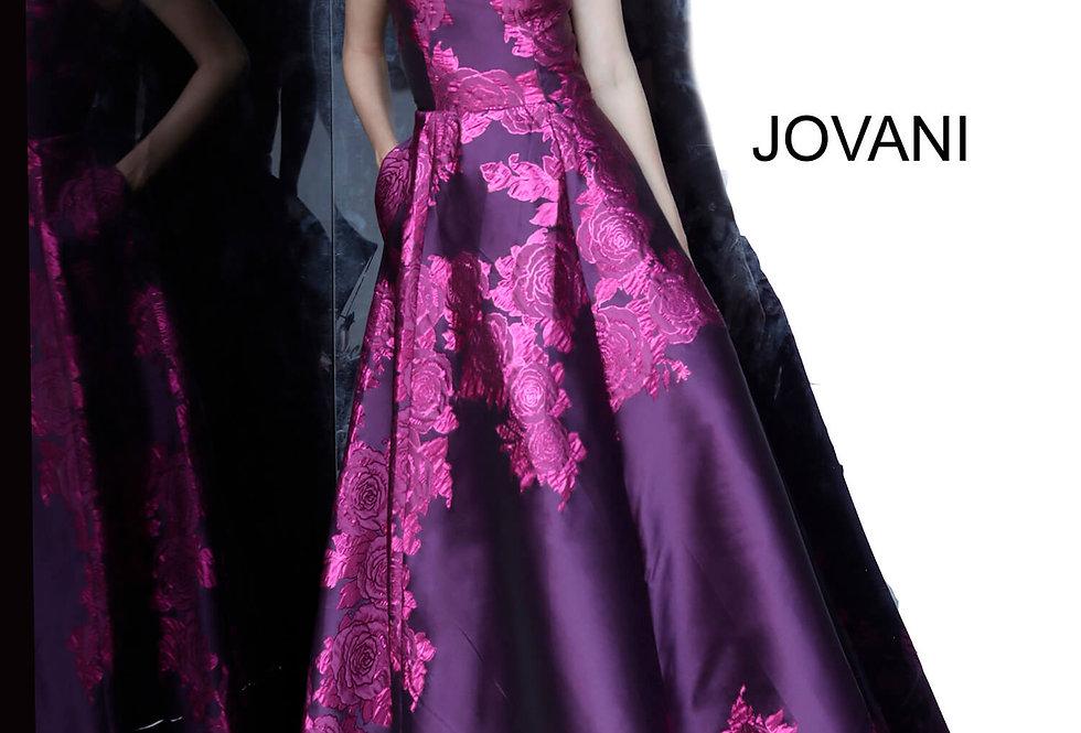 Jovani Taffeta A Line Dress 02045