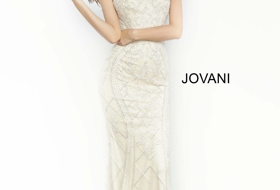 Jovani Fitted Beaded Dress 2008