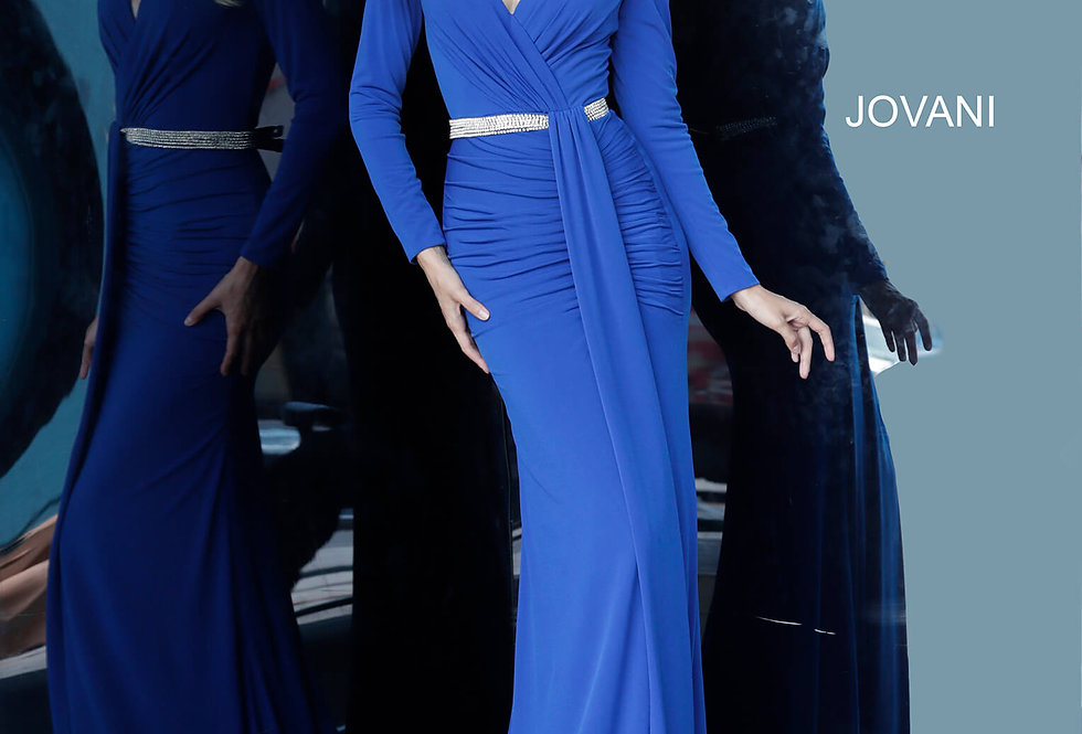 Jovani Long Fitted Dress 1788