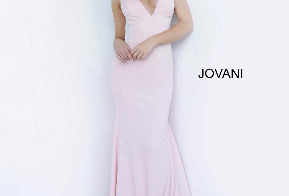 Jovani Long Fitted Dress 02132