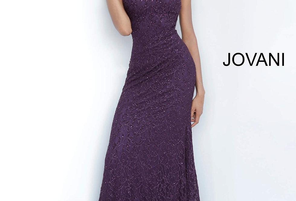 Jovani High Neckline Lace Dress 4032