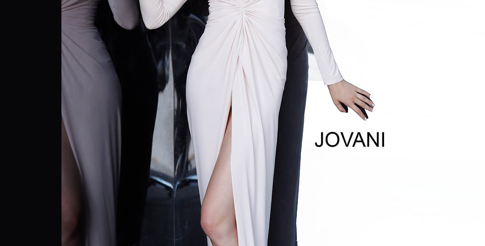 Jovani Fitted Long Dress 3060