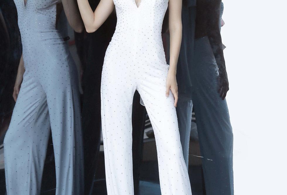 Jovani Long Jump Suit Dress 67941