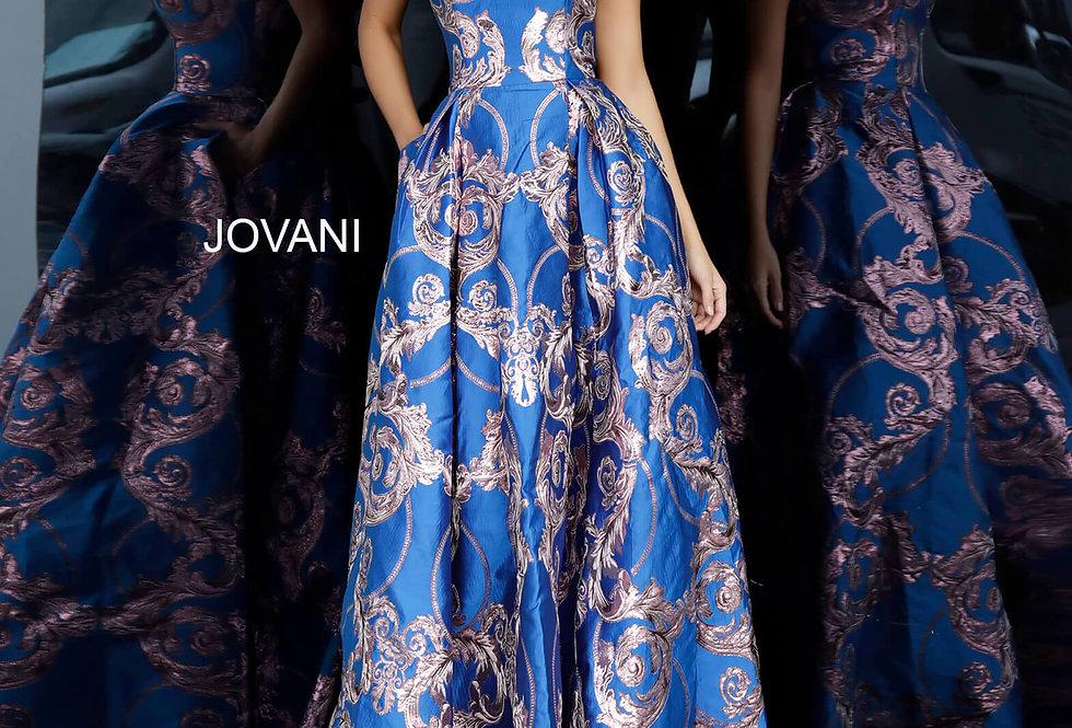 Jovani Long A Line Dress 3771