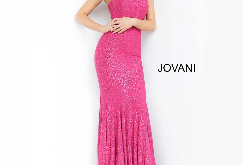 Jovani Long Shimmer Dress 1121