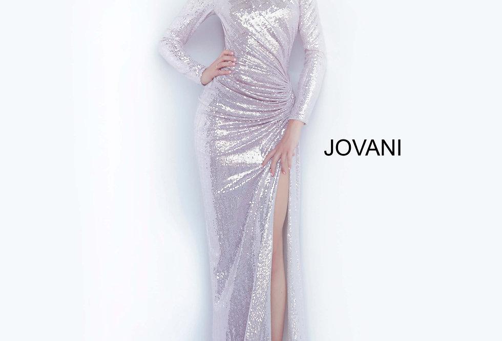 Jovani Long Sleeve Beaded Dress 1707