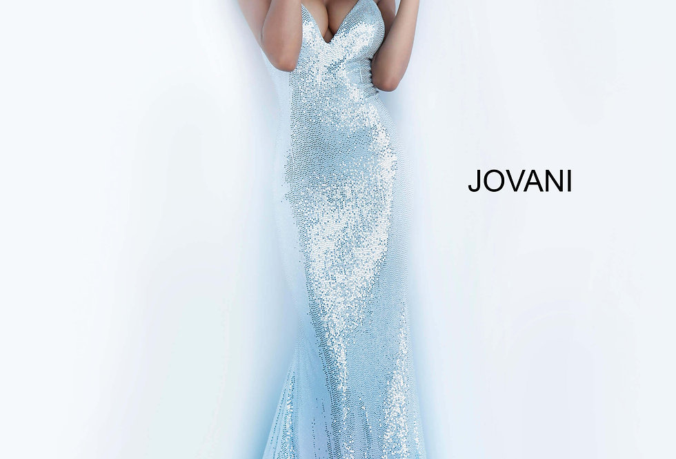 Jovani Fitted Beaded Dress 00592