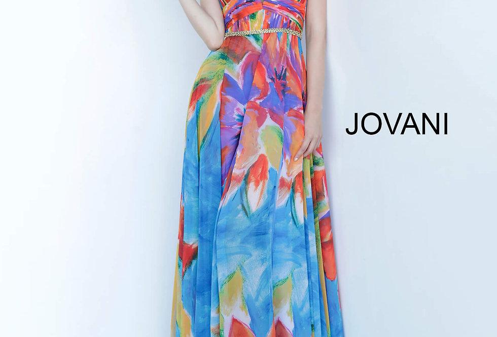 Jovani Long A Line Dress 65613
