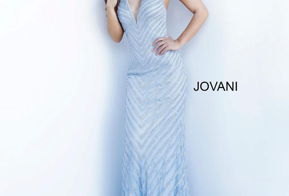 Jovani Fitted Shimmer Dress 00399