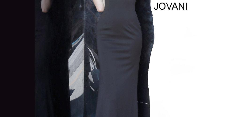 Jovani Long Halter Dress 3083