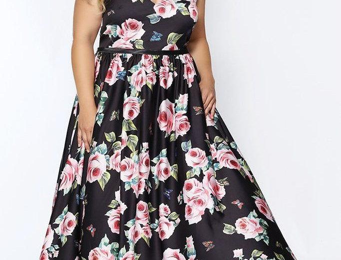 Full Bloom Formal Dress