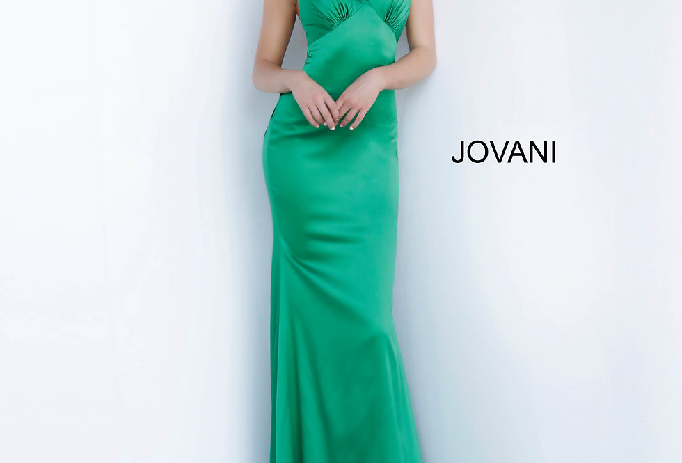 Jovani Open Back Fitted Dress 67862