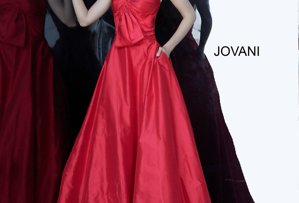 Jovani A Line Long Dress 66320