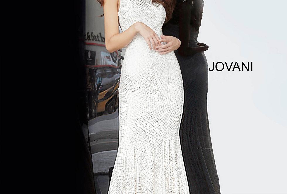 Jovani Long Glitter Dress 1119