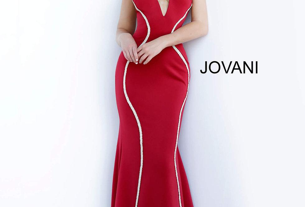 Jovani Jersey Fitted Dress 3040
