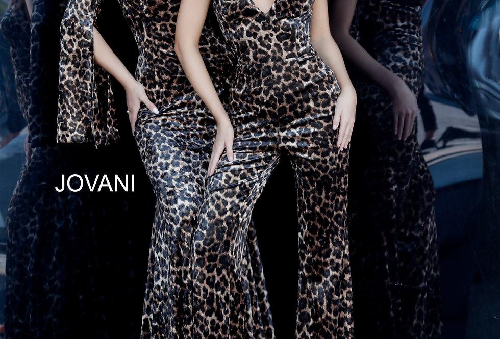 Jovani Open Back Fitted Dress 3959