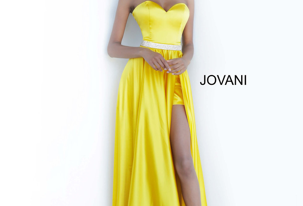 Jovani Sweatheart Beaded Dress 3106