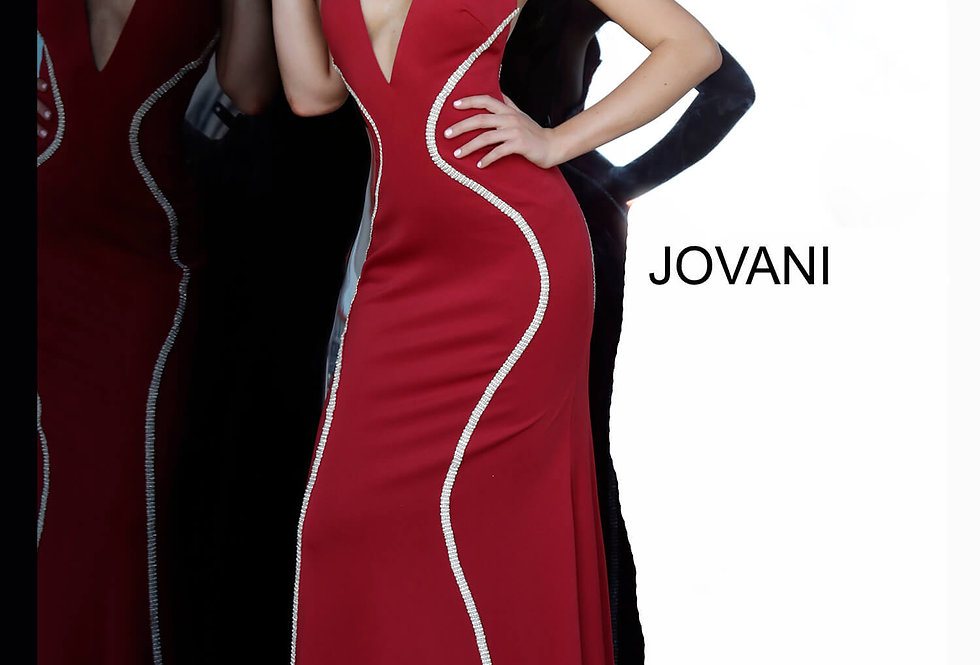 Jovani Jersey Fitted Dress 3040