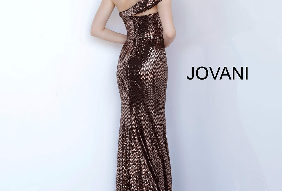 Jovani Long Fitted Dress 1100