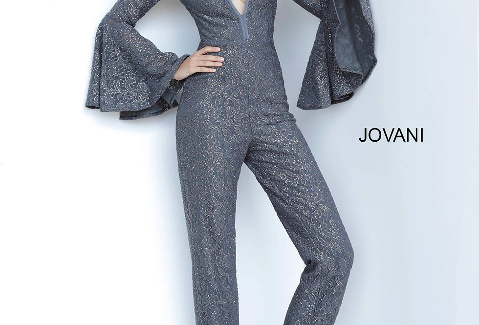Jovani Fitted Long Sleeve Dress 1175