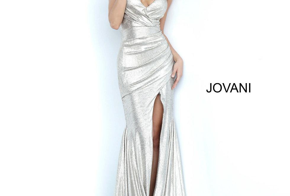 Jovani V- Neckline Long Dress 67977