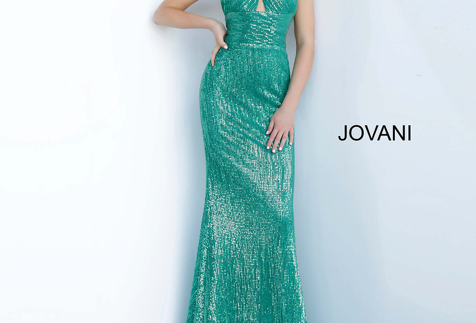 Jovani Long Fitted Dress 1270