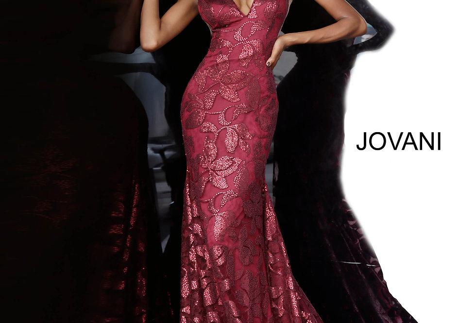 Jovani Glittery Long Dress 1237