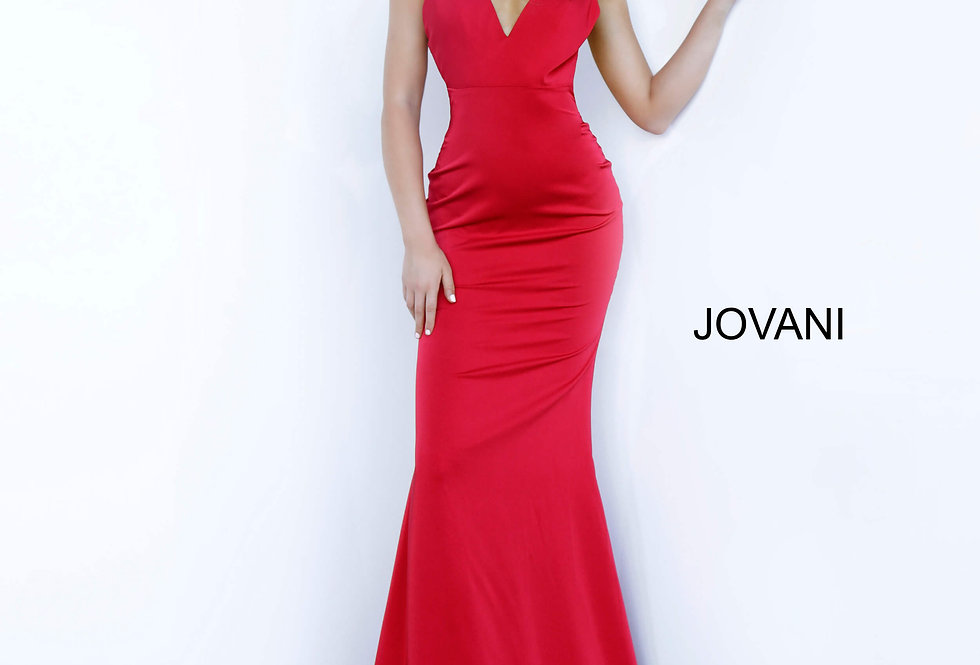 Jovani Satin Long Dress 67857