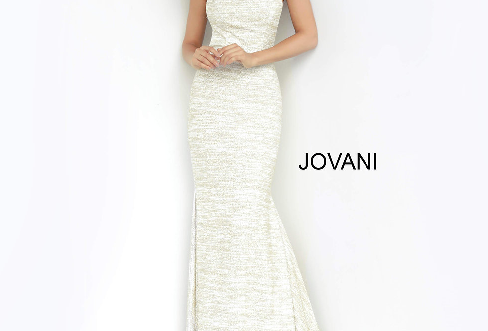 Jovani Long Fitted Dress 00688
