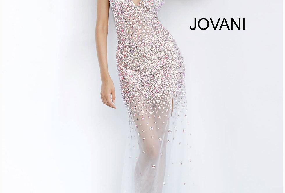 Jovani Beaded Long Dress 02047